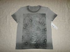 CALVIN KLEIN T-SHIRT MENS SIZE XL SHORT SLEEVES GREY COLOR NEW WITH TAGS