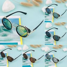 Steampunk Sunglasses Round Glasses Cyber Goggles Vintage Retro Style Blinder SV