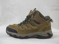 Mens Karrimor Mount Mid Walking Hiking Taupe Weathertite Lace Up Leather Boots