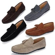 Mens Pumps Slip On Suede Driving Boat Shoes Moccasins Loafers Brogues Plus Size