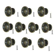 10Pcs Retro Zinc Alloy Door Drawer Pull Handle Grip Knobs Wardrobe Cabinet Decor