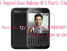 PVC Tempered Glass Membrane Screen Protector Film F BLACKBERRY CLASSIC Q20 Q-20