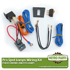 Driving/Fog Lamps Wiring Kit for Classic Car. Isolated Loom Spot Lights