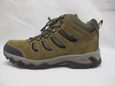 Karrimor Mount Mid Walking Hiking Taupe Weathertite Leather Mens Boots