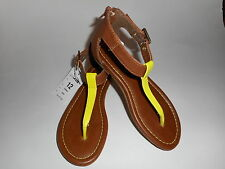 Xhilaration Girls T-Strap Sandals Casual Various Youth Sizes NWT