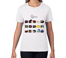 Queen Studio Collection Shirt Womens (Freddie Mercury, Brian May, Roger Taylor)