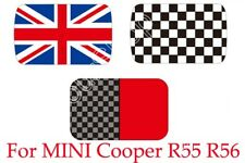 Checkered Union Jack Sun Roof Decal Stickers Fit Mini Cooper R55 Clubman USA