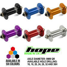 Hope RS4 Road Front Hub QR - All Colors and Spoke Hole Counts - Brand New