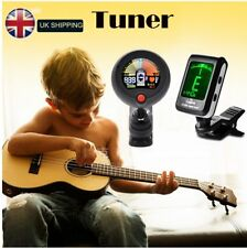 2 in1 Clip-on Chromatic Tuner / Metronome Acoustic/Electric Guitar Bass Ukulele