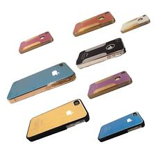iPhone 4 iPhone 4S Chrome Bumper Metal Case Carbon Crossline Hard Apple i4 i4s