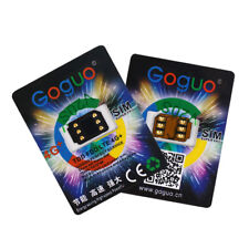 GOGUO V20 SIM Card Unlock for All iOS GSM 2/3/4G CDMA 2/3/4G iPhone 5 6 7 US