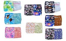 U Pick Baby Pocket Diapers inserts One Size Reusable Washable Nappies 2PCS