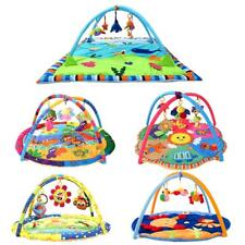 Baby Gym Activity Soft Cotton Musical Playmat Play Mat with toys for Boy or Girl