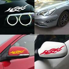 Universal Flame Car Vinyl Sticker Decal Cover Accessoires for Motorcycle/ BF9