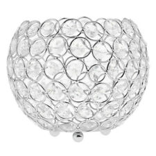 Round Ball Crystal Votive Tealight Candle Holder Wedding Valentine Centerpiece
