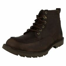 Mens Caterpillar Leather Boots 'Jerome' Style ~ K