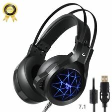 Gaming headset with mic for pc headphone for computer with microphone headset ga