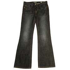 MEK DENIM  Jeans HARRISON men's boot cut black 100% cotton low rise