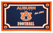 Team Sports America Auburn Tigers Embossed Floor Mat, 18 x 30 inches
