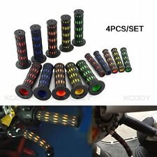 4pcs 22mm Motorcycle Bicycle Handle Grips Covers Protector Rubber Gel Universal