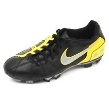 C5472 scarpa calcio bimbo NIKE JR TOTAL90 SHOOT III FG nero football shoe kid
