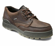 ECCO Track II Low Mens Casual Hiking Shoes GORE-TEX WATERPROOF Brown Leather