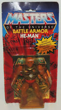 1983 HE-MAN Figure BATTLE ARMOR Masters of The Universe Mattel Vintage MOTU MIP