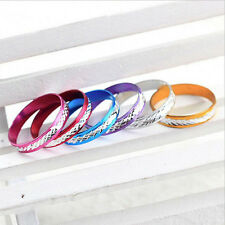 100PCS Unisex's Men's Women's Fashion Mixed Color One Size Alloy Rings Jewelry