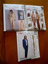 McCall's Misses uncut wardrobe Sewing Pattern sizes 10 12 14  You Pick