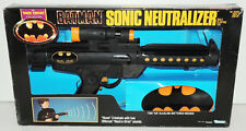 Vintage 1990 Dark Knight Batman SONIC NEUTRALIZER Weapon Gun Kenner 1990 MIB