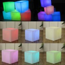 LED Color Changing Mood Cube Night Glow Lamp Light Home Party Decoration