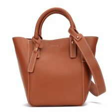Women Buckte Handbag Real Leather Casual Tote Shopping Shoulder Bag Ladies Purse