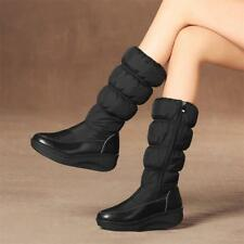 Fashion Winter womens Snow Mid Calf Boots Warm Thicken Zip up Shoes