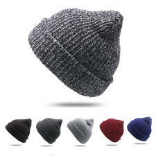 Unisex Men Women Knit Baggy Beanie Winter Slouchy Knitted Cap Hat Ski Hat Skull