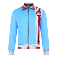 Official Retro West Ham United 1976 Away Retro Track Jacket 100% POLYESTER