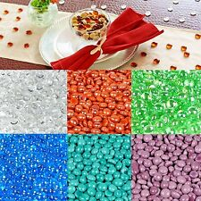 Mini Premium Decorative Mosaic Glass Gems Pebbles, Opaque Home Decoration, 15 mm