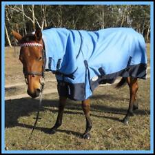 LOVE MY HORSE Mini 3'6 - 4'6 1200D 300g Ripstop Waterproof Warm Combo Rug Blue