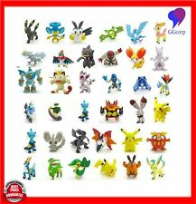 144Pcs For Pokemon GO Mini Action Figures Toys Small Cartoon Anime Mixed Gifts