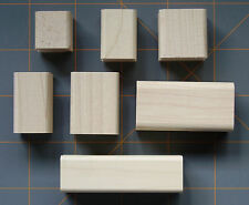 SMALL SIZE STAMPIN UP WOOD MOUNTING BLOCKS for RUBBER STAMPS ~ YOUR CHOICE!