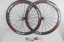 50mm Bike Wheelset Carbon Clincher Wheels Road Bike WOKECYC Race Wheel
