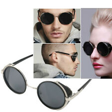 Steampunk Sunglasses Round Glasses Cyber Goggles Vintage Retro Style Blinder XY