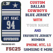 Blue Dallas Cowboys NFL Phone Case Cover for Samsung s8 PLUS s7 Edge s6 Note 5