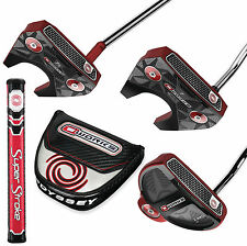 2017 Odyssey O-Works Red Putters with SuperStroke 2.0 Choose Style & Length New