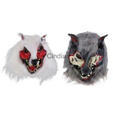 Werewolf Latex Mask Halloween Fancy Dress Scary Wolf Cosplay Party Costume Props