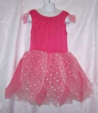 Gymboree Girls Halloween Costume Dress18-24 mo and L Toddler Fairy Sparkle Pink
