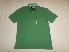 TOMMY HILFIGER POLO CUSTOM FIT T-SHIRT MENS SIZE XXL GREEN COLOR  NEW WITH TAGS