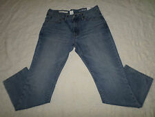 GAP 1969 JEANS MENS SLIM SIZE 30X32 SIT LOW ON WAIST ZIP FLY LIGHT BLUE NEW NWT