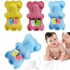 Foam Anti-Slip Aid Support Soft Baby Bath Sponge Pad Mat Cushion Safety Comfort