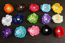 NEW Baby Girl Child PEONY Spring Flower Barrette Alligator HAIR CLIP Headband