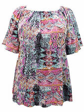 New Yors Clothing top plus size 22 24 26/28 30/32 34/36 off shoulder blouse